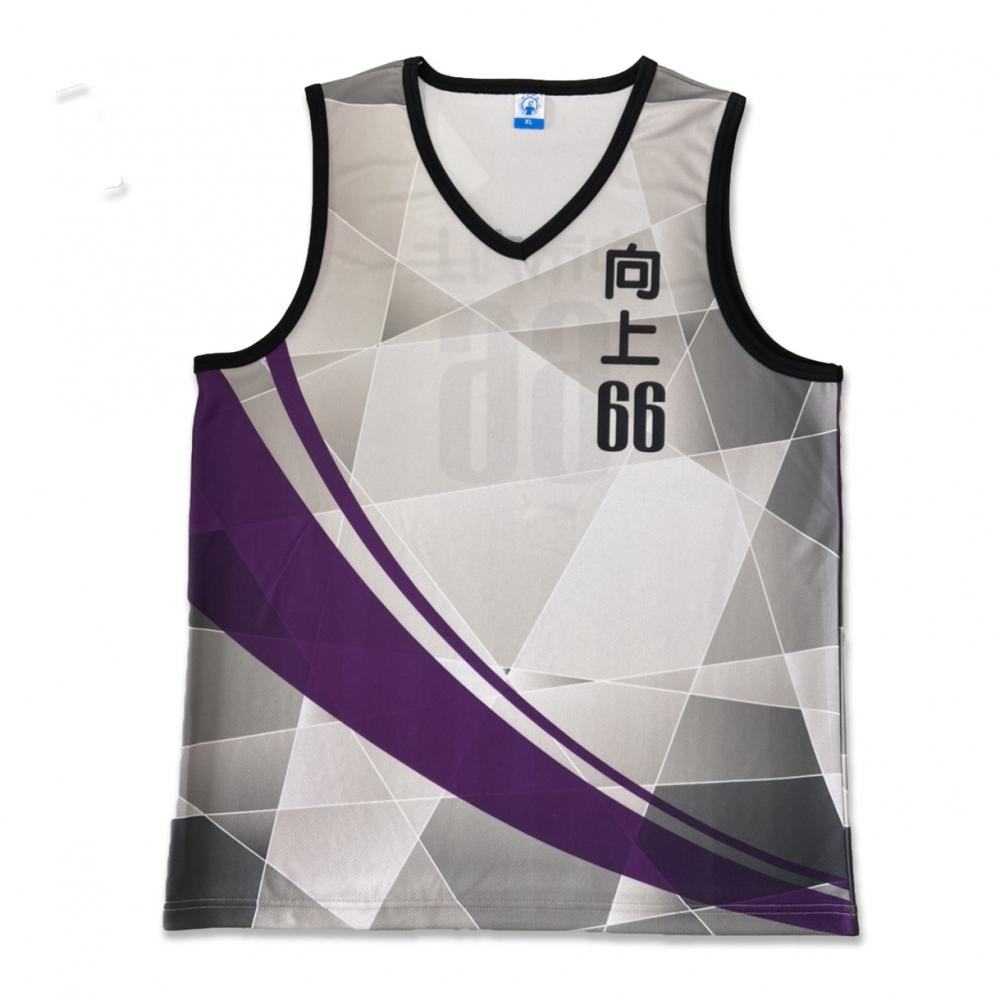 T恤變化款-M8033籃球背心V領