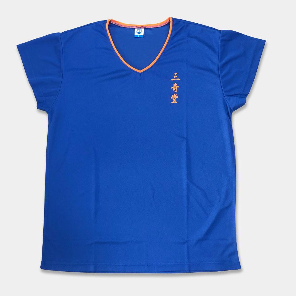 T恤變化款-V領