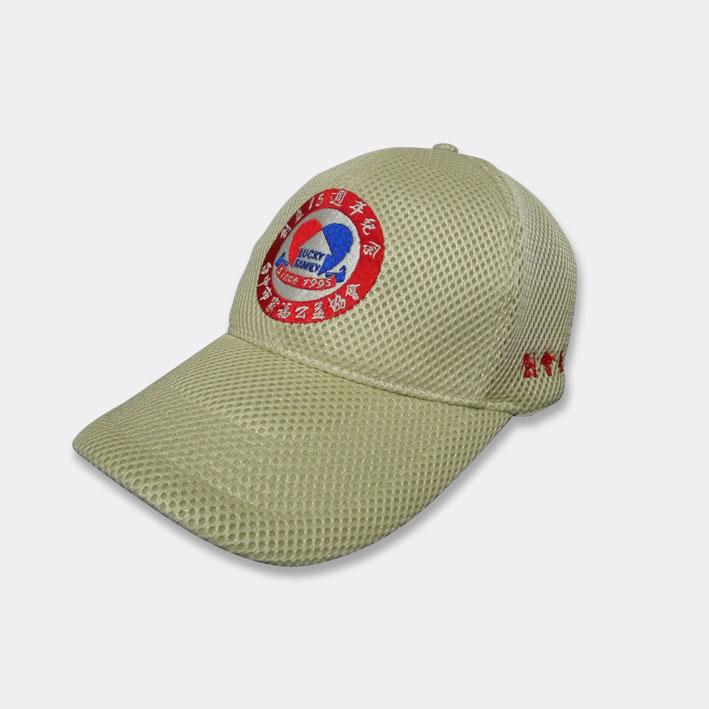 帽-6片棒球帽-素色