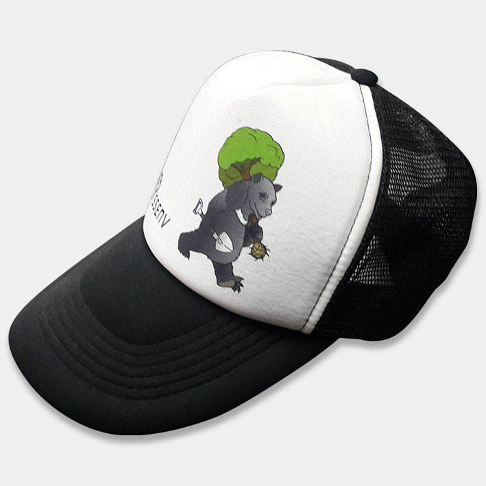 帽-泡棉網帽