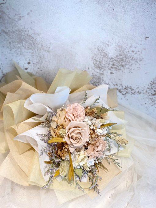 母親節花束-大地母親永生康乃馨花束