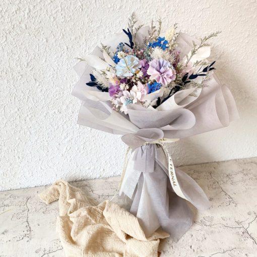 母親節花束-藍色星球