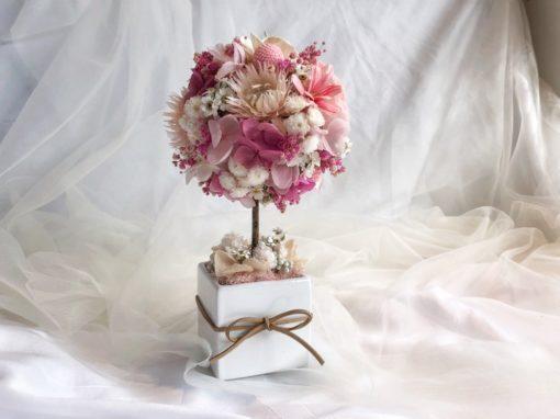 春季花藝課程 永生繡球恆星花樹 (可現場配色)