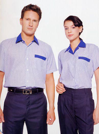W008單口袋工作服