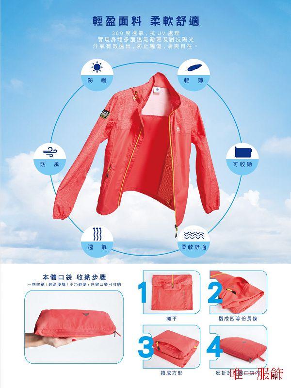 2020LON08 抗UV透氣外套