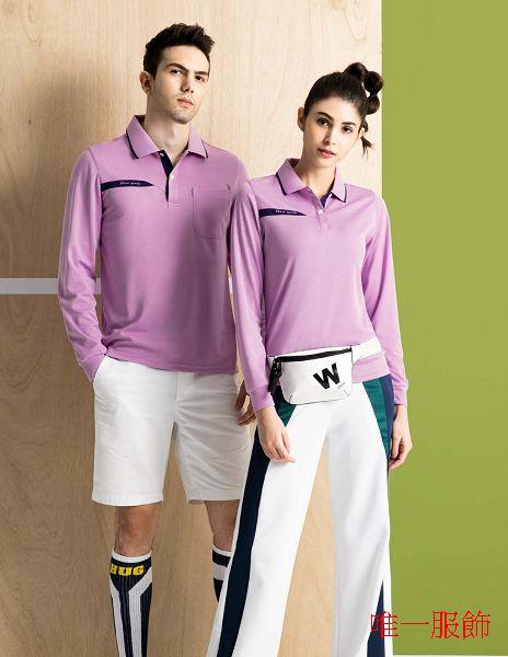 2021 FLARE 05吸濕排汗衫淺紫