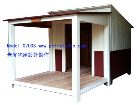 涼亭設計款超大型狗屋