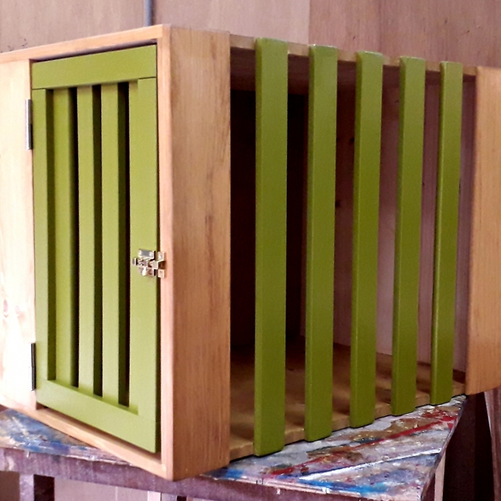 室內簡簡單單的一狗屋