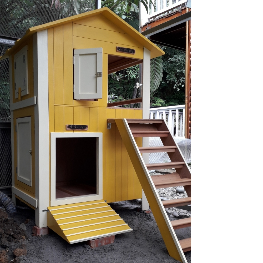 雞鴨同籠別墅設計製作