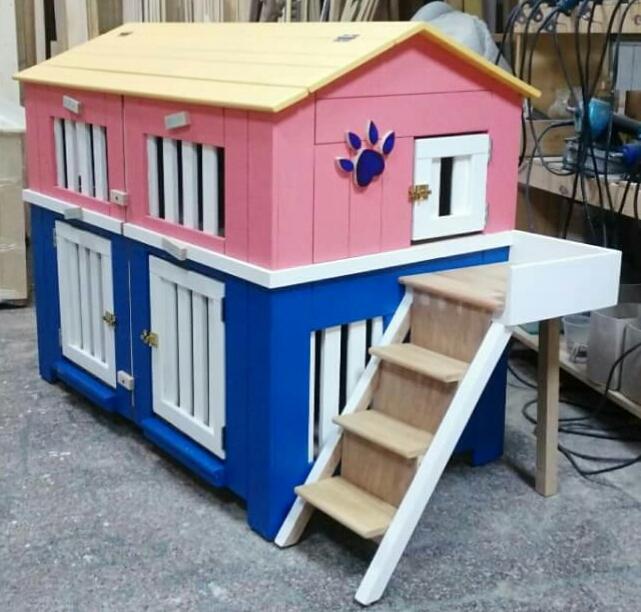 狗屋也可以這麼可愛,可訂製大小哦。