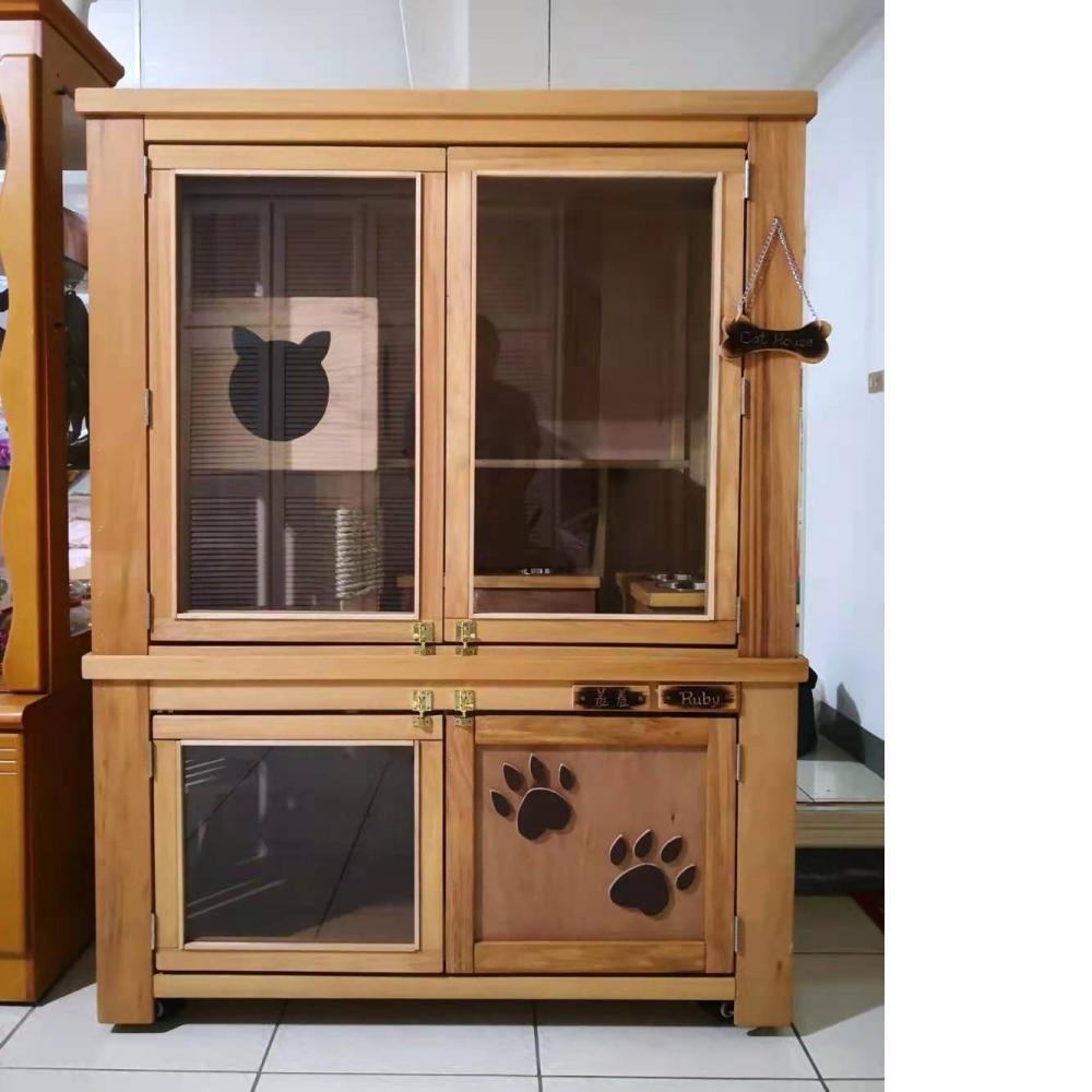室內貓屋櫃設計,方便