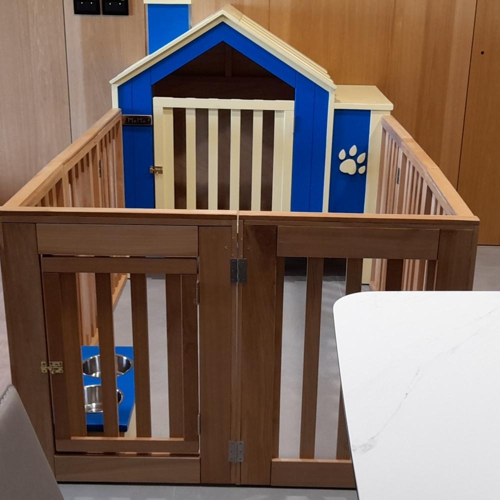 室內狗屋,圍籬可快速