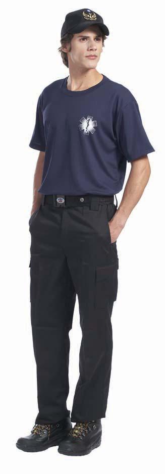 黑色救護長褲