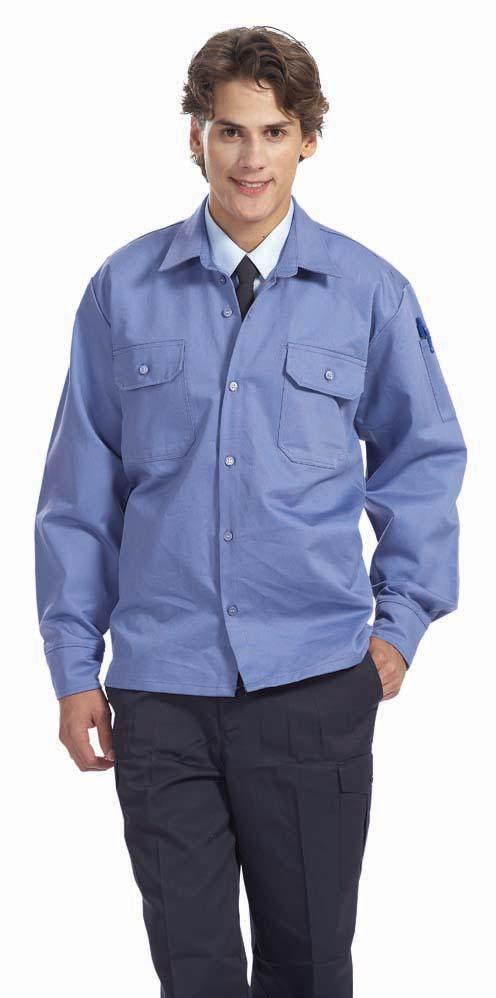B302 電焊衣-灰
