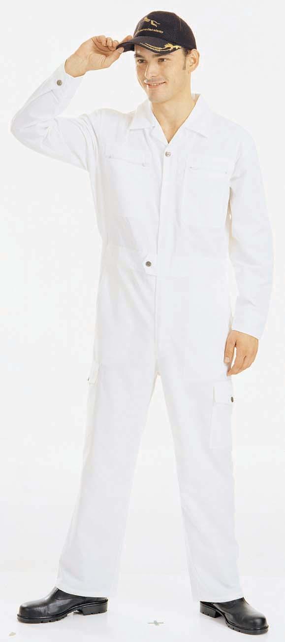 A504白色連身服