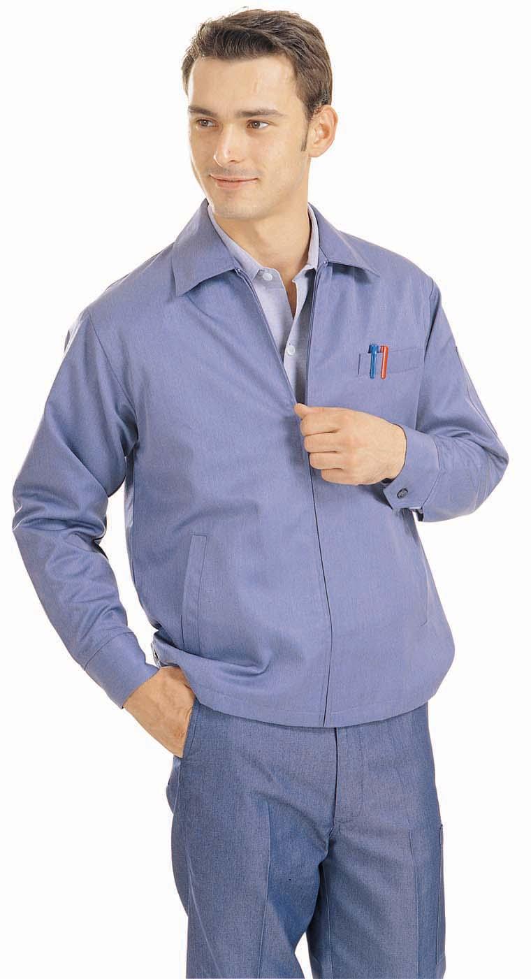 #502 塑藍夾克-