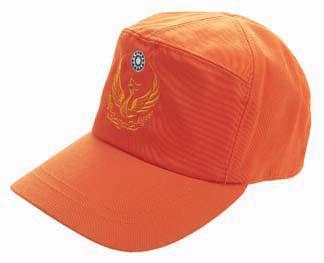 消防小帽(橘色)