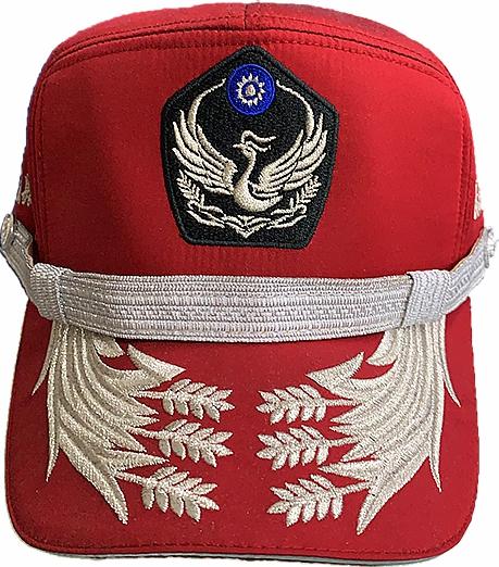 義消便帽-紅