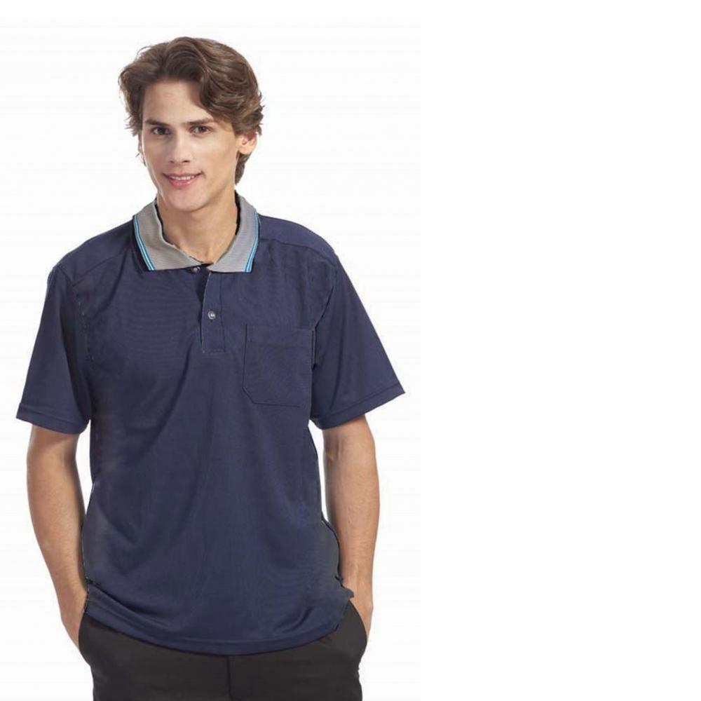 吸濕快排POLO衫-(長袖/短袖)