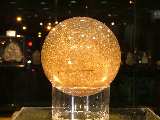 善福-鈦水晶球 重
