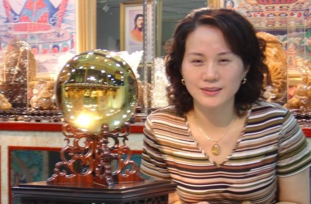 善福-黃水晶球 直徑