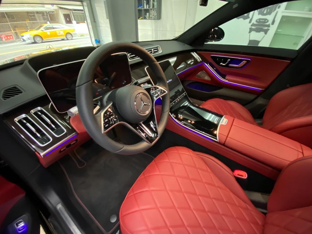 Benz S450 glass coat