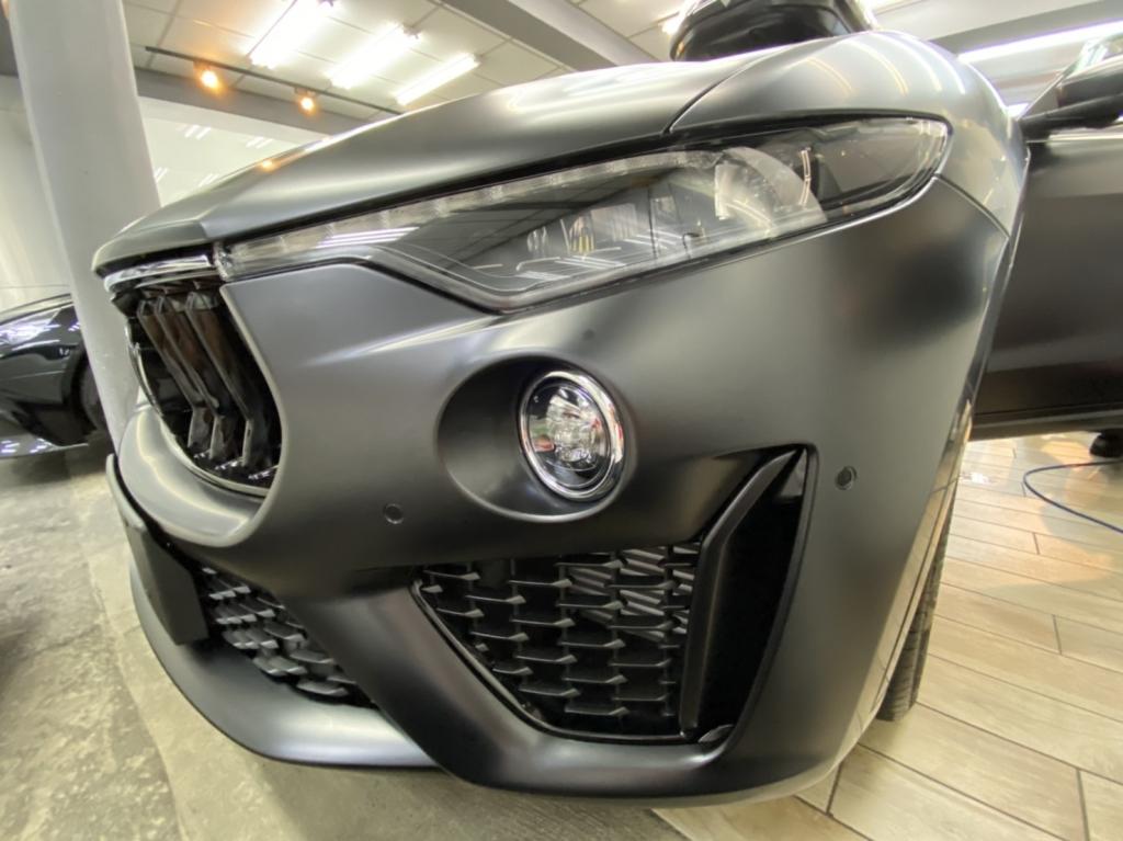 Maserati Levante Q4 Full body wrap matte PPF