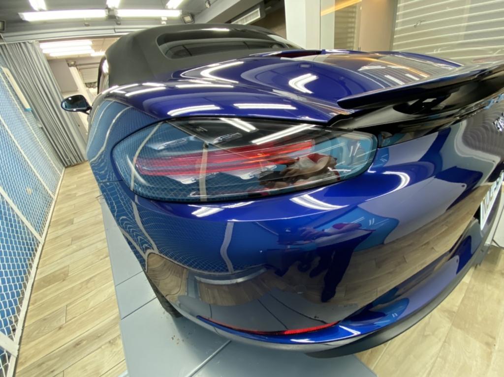 Porsche Boxster Full body wrap PPF