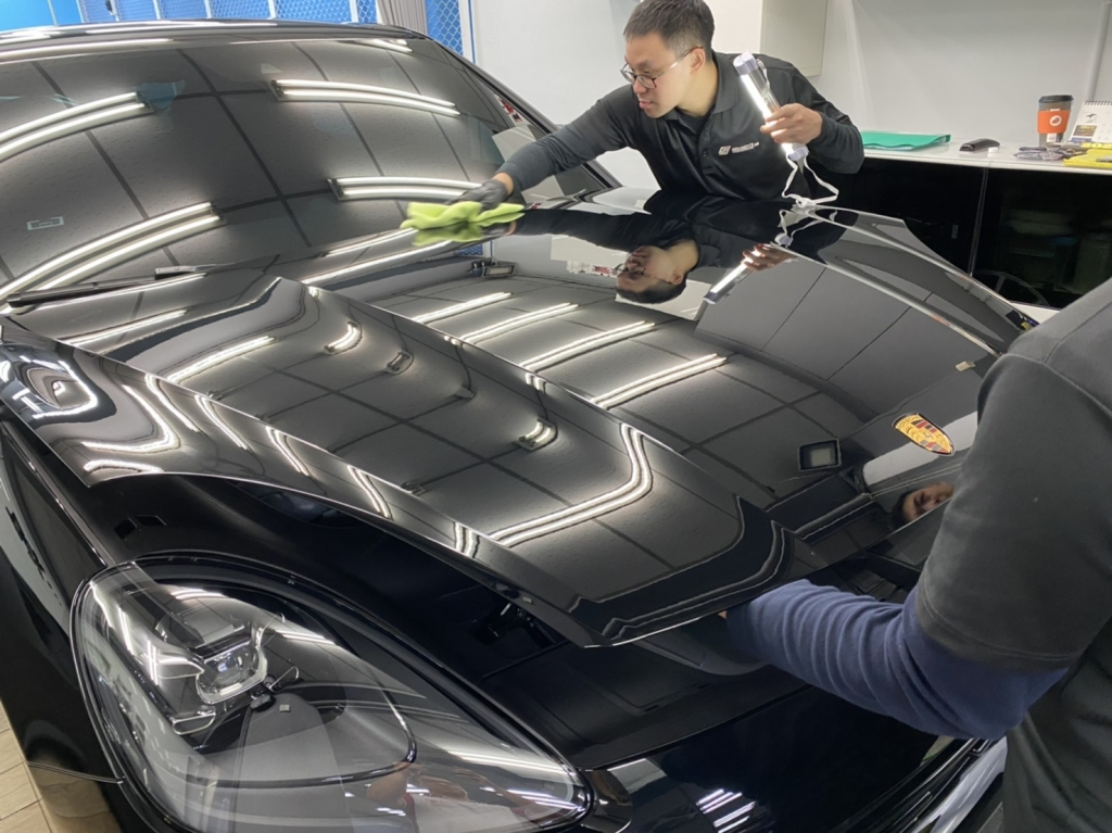 Porsche Cayneen Coupe 鸇Rapid Coat