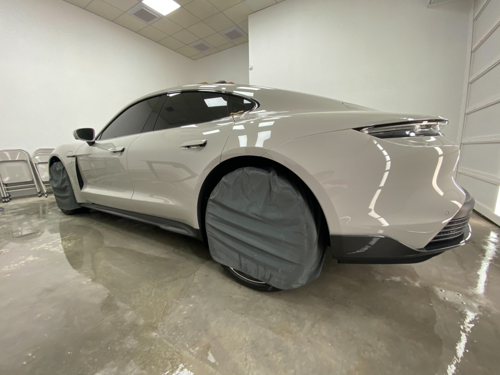 Porsche Taycan turbo S Full PPF