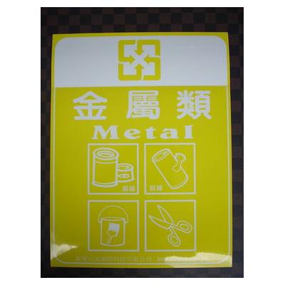 分類貼紙:金屬類