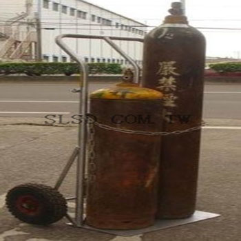 G002雙桶鋼瓶推車