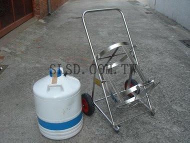 液態氮專用推車(不鏽