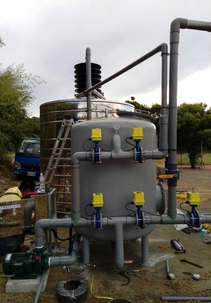 工業用全自動濾水器-超大水量