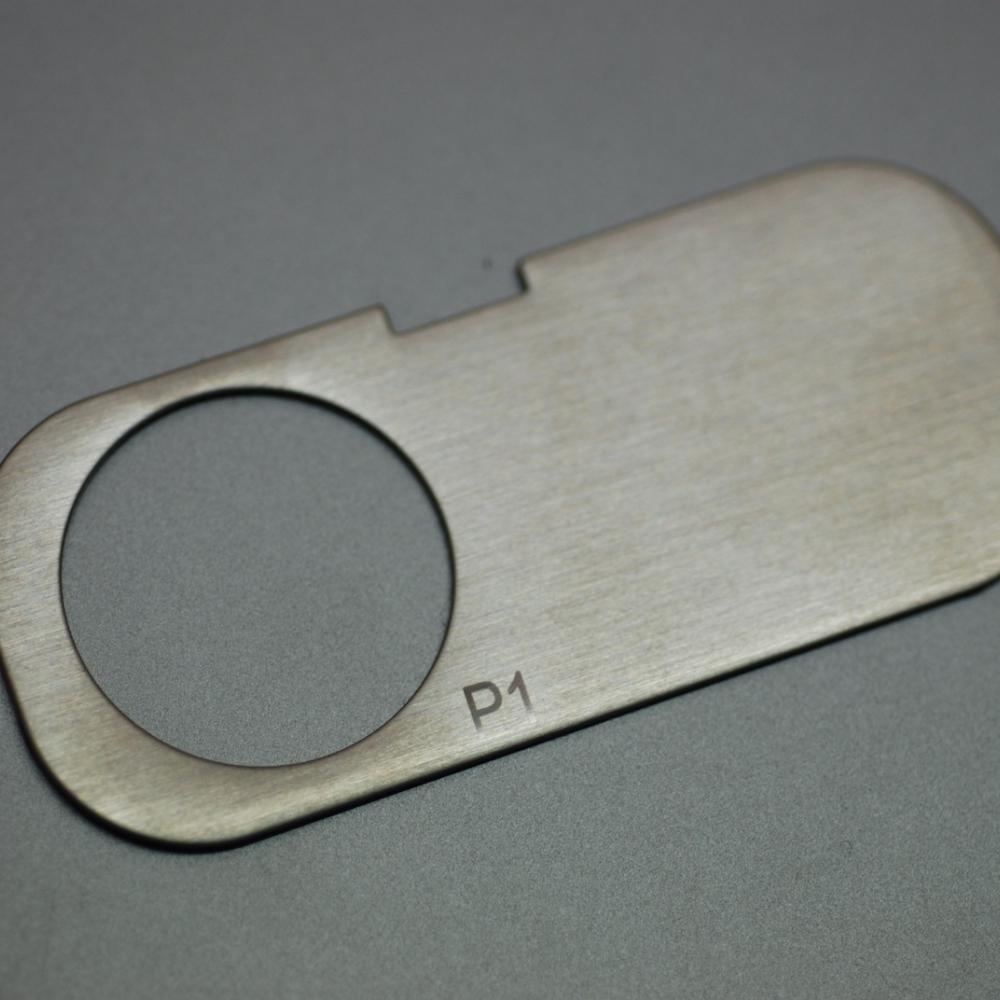 不鏽鋼銘板