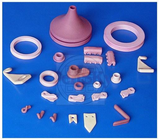 Textile porcelain pieces