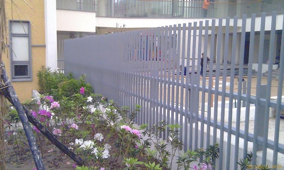 客製金屬圍籬欄杆