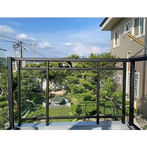 陽台玻璃欄杆頂天系列