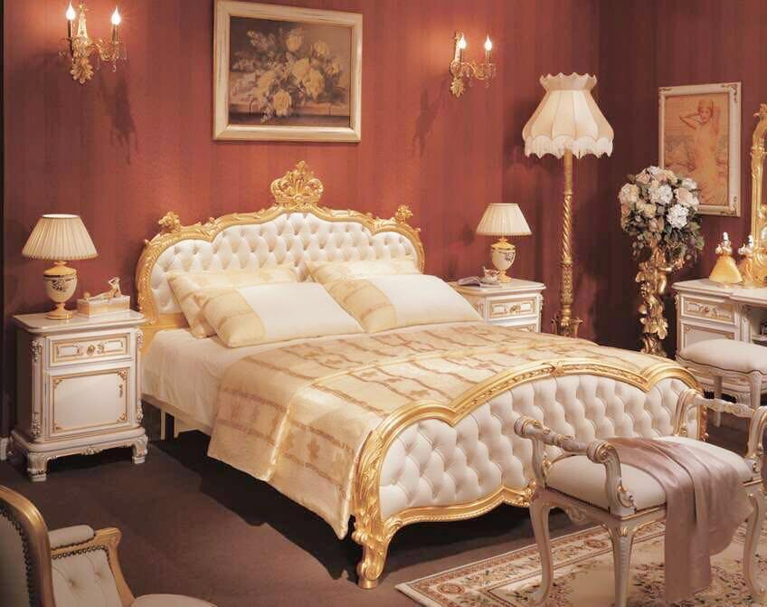 古典床組1