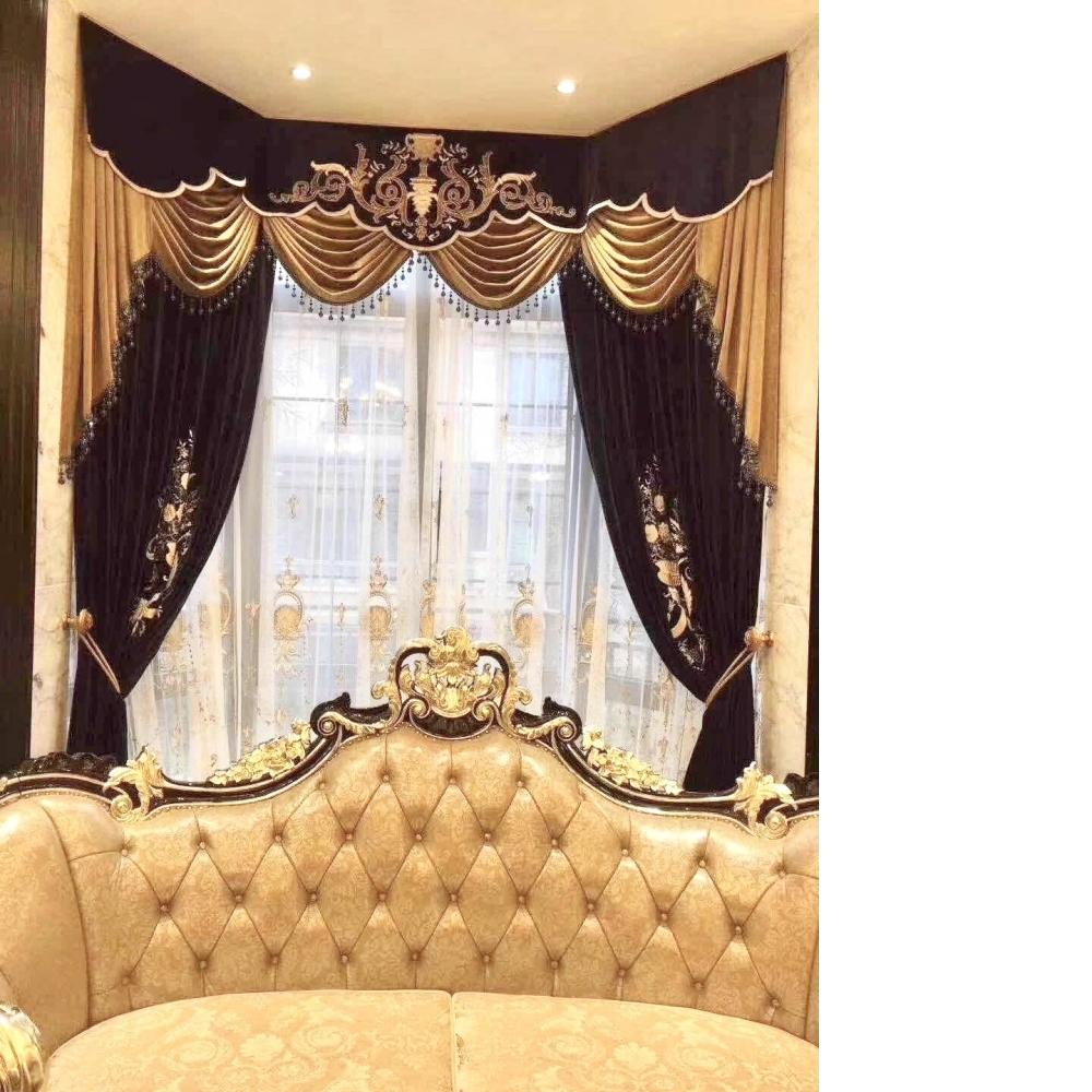 古典窗簾1