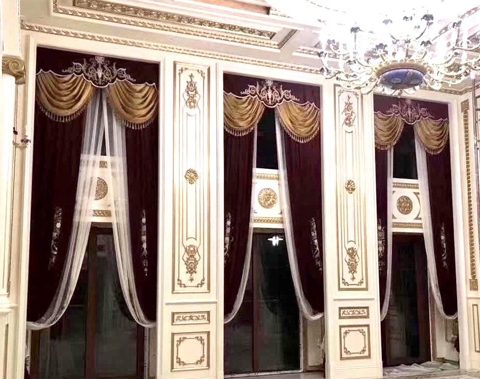 古典窗簾3