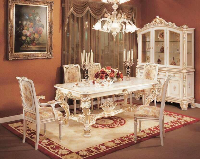 古典餐桌1