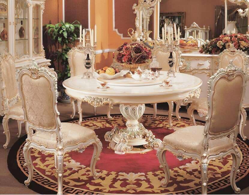 古典餐桌2