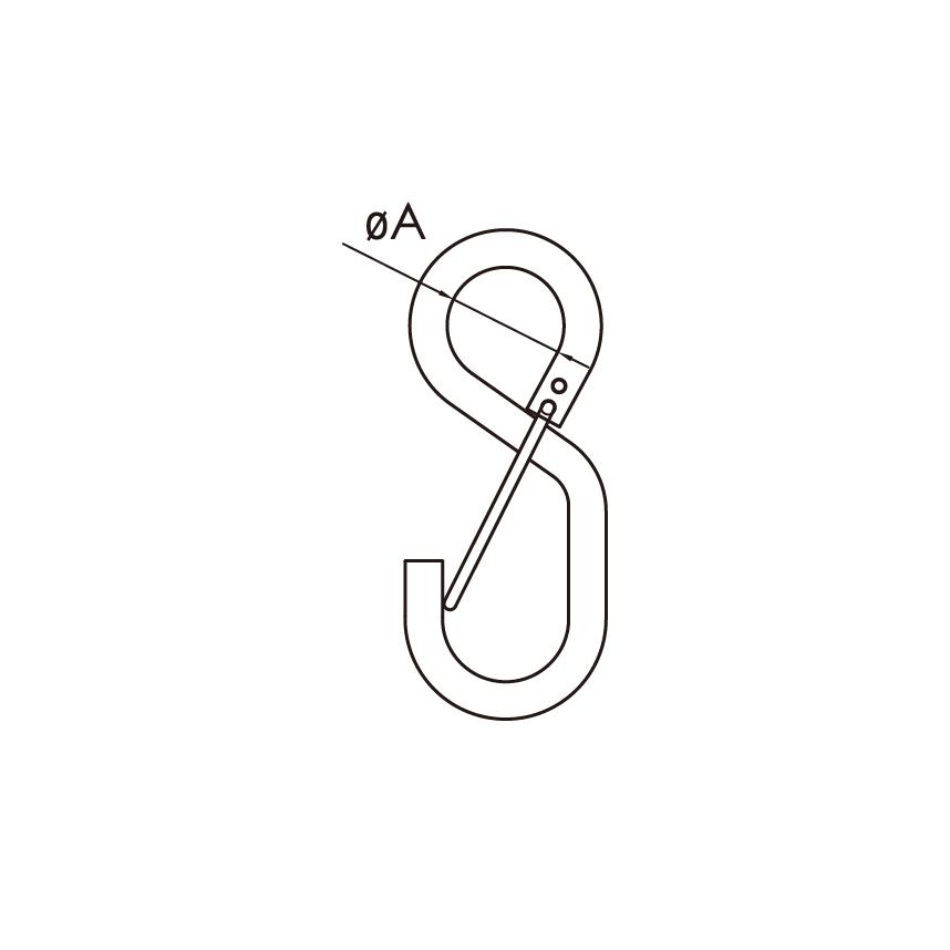S鉤+線型彈片