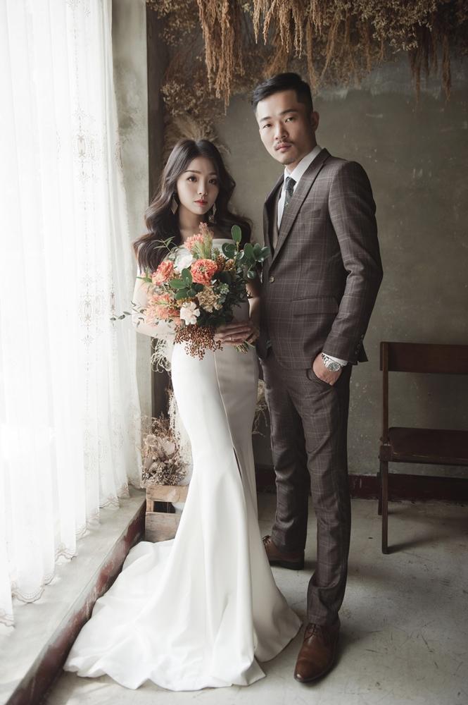 2020 Wedding 自主婚紗 復古棚拍 都會公園 W&S婚紗