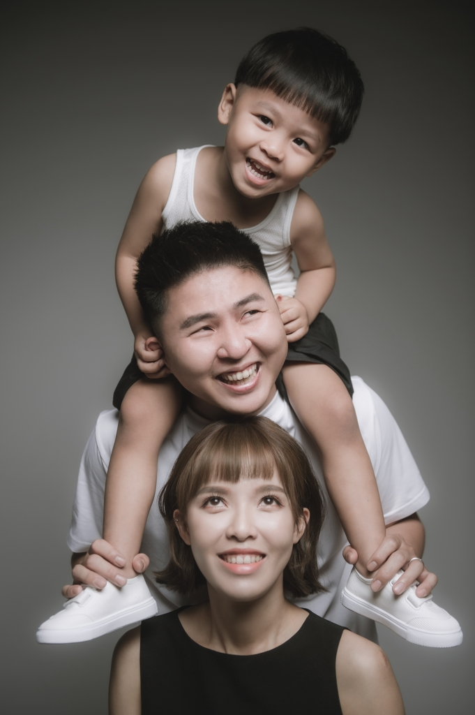 2021 Family|全家福寫真2+1|W&S棚拍