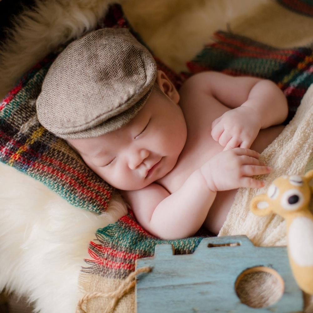 <拍攝1小時>新生寶貝體驗寫真