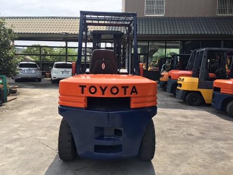 TOYOTA 第五代4.5噸 柴油堆高機