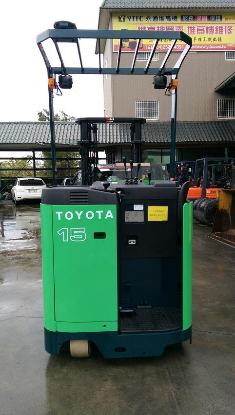 TOYOTA 第七代 1.5噸 立式 電動堆高機