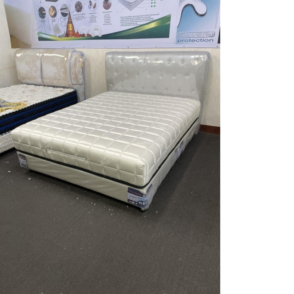 華麗魔方緞面乳膠獨立筒床墊